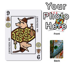 Decktet By Melody   Playing Cards 54 Designs   P3cjj4h2c9v3   Www Artscow Com Front - Diamond3