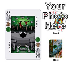 Decktet By Melody   Playing Cards 54 Designs   P3cjj4h2c9v3   Www Artscow Com Front - Club5