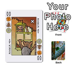 Decktet By Melody   Playing Cards 54 Designs   P3cjj4h2c9v3   Www Artscow Com Front - Club6