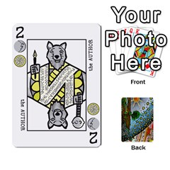 Decktet By Melody   Playing Cards 54 Designs   P3cjj4h2c9v3   Www Artscow Com Front - Spade9