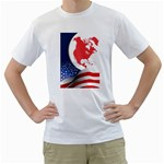 flag_57 White T-Shirt