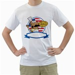 chef_34 White T-Shirt
