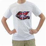 flag_167 White T-Shirt