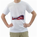 flag_58 White T-Shirt