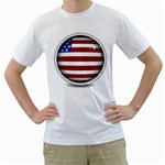 flag_156 White T-Shirt