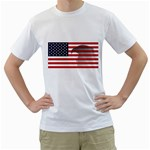 flag_23 White T-Shirt