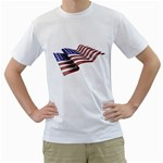 flag_135 White T-Shirt