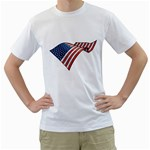 flag_78 White T-Shirt