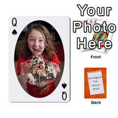 Queen Dad Cards 2011 By Nichole Johnson   Playing Cards 54 Designs   Gajlufsucnb8   Www Artscow Com Front - SpadeQ