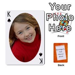 King Dad Cards 2011 By Nichole Johnson   Playing Cards 54 Designs   Gajlufsucnb8   Www Artscow Com Front - SpadeK