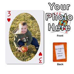 Dad Cards 2011 By Nichole Johnson   Playing Cards 54 Designs   Gajlufsucnb8   Www Artscow Com Front - Heart3