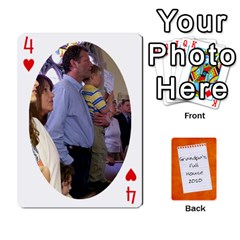 Dad Cards 2011 By Nichole Johnson   Playing Cards 54 Designs   Gajlufsucnb8   Www Artscow Com Front - Heart4