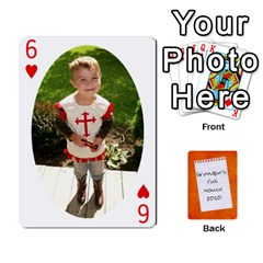 Dad Cards 2011 By Nichole Johnson   Playing Cards 54 Designs   Gajlufsucnb8   Www Artscow Com Front - Heart6