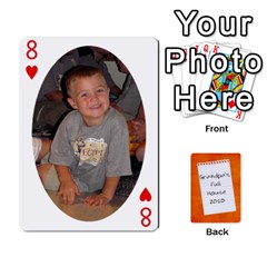 Dad Cards 2011 By Nichole Johnson   Playing Cards 54 Designs   Gajlufsucnb8   Www Artscow Com Front - Heart8