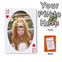Dad Cards 2011 By Nichole Johnson   Playing Cards 54 Designs   Gajlufsucnb8   Www Artscow Com Front - Heart10