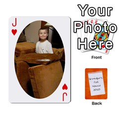 Jack Dad Cards 2011 By Nichole Johnson   Playing Cards 54 Designs   Gajlufsucnb8   Www Artscow Com Front - HeartJ