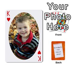 King Dad Cards 2011 By Nichole Johnson   Playing Cards 54 Designs   Gajlufsucnb8   Www Artscow Com Front - HeartK