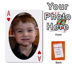 Ace Dad Cards 2011 By Nichole Johnson   Playing Cards 54 Designs   Gajlufsucnb8   Www Artscow Com Front - HeartA