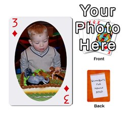 Dad Cards 2011 By Nichole Johnson   Playing Cards 54 Designs   Gajlufsucnb8   Www Artscow Com Front - Diamond3