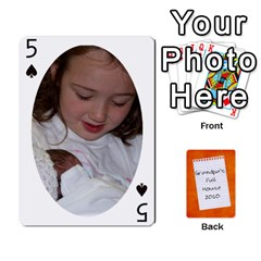Dad Cards 2011 By Nichole Johnson   Playing Cards 54 Designs   Gajlufsucnb8   Www Artscow Com Front - Spade5