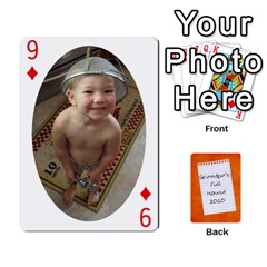 Dad Cards 2011 By Nichole Johnson   Playing Cards 54 Designs   Gajlufsucnb8   Www Artscow Com Front - Diamond9