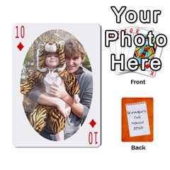 Dad Cards 2011 By Nichole Johnson   Playing Cards 54 Designs   Gajlufsucnb8   Www Artscow Com Front - Diamond10