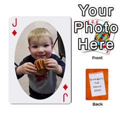 Jack Dad Cards 2011 By Nichole Johnson   Playing Cards 54 Designs   Gajlufsucnb8   Www Artscow Com Front - DiamondJ