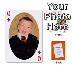 Queen Dad Cards 2011 By Nichole Johnson   Playing Cards 54 Designs   Gajlufsucnb8   Www Artscow Com Front - DiamondQ