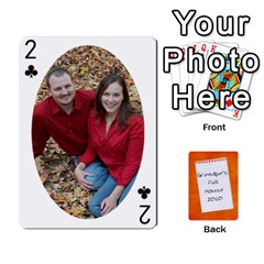 Dad Cards 2011 By Nichole Johnson   Playing Cards 54 Designs   Gajlufsucnb8   Www Artscow Com Front - Club2