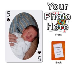 Dad Cards 2011 By Nichole Johnson   Playing Cards 54 Designs   Gajlufsucnb8   Www Artscow Com Front - Club5