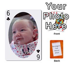 Dad Cards 2011 By Nichole Johnson   Playing Cards 54 Designs   Gajlufsucnb8   Www Artscow Com Front - Club6