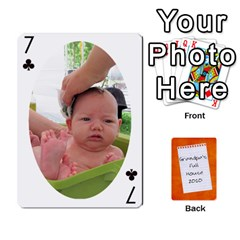 Dad Cards 2011 By Nichole Johnson   Playing Cards 54 Designs   Gajlufsucnb8   Www Artscow Com Front - Club7