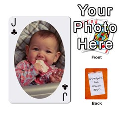 Jack Dad Cards 2011 By Nichole Johnson   Playing Cards 54 Designs   Gajlufsucnb8   Www Artscow Com Front - ClubJ