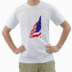 flag_204 White T-Shirt