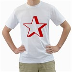 star_128 White T-Shirt