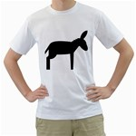donkey_170 White T-Shirt
