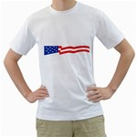 flag_87 White T-Shirt