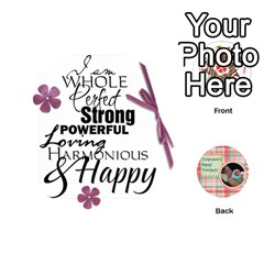 Jack Happy Thoughts By Melissa Wulf   Playing Cards 54 (round)   Jl48vf40cg80   Www Artscow Com Front - DiamondJ