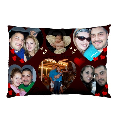 Pure Love Jef By Jaime Andrade   Pillow Case   Bryxb2nfl63n   Www Artscow Com 26.62 x18.9 Pillow Case
