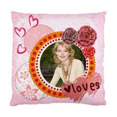 Love  By Joely   Standard Cushion Case (two Sides)   Lgau0d4hse44   Www Artscow Com Back