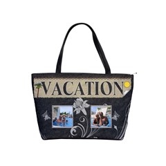 Relaxing Vacation Classic Shoulder Handbag By Lil    Classic Shoulder Handbag   Ov39j5zprdla   Www Artscow Com Front