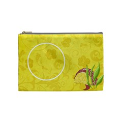 Spring Cuties Medium Bag By Lisa Minor   Cosmetic Bag (medium)   Ssxtxmrsfbz2   Www Artscow Com Front