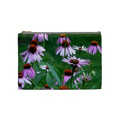 Purple Cones Med Bag By Debra Macv   Cosmetic Bag (medium)   09y6tjufi96d   Www Artscow Com Front