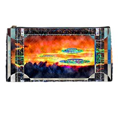 Ufo Sunrise By Alienjunkyard   Pencil Case   Tz7cx2w7um5b   Www Artscow Com Front