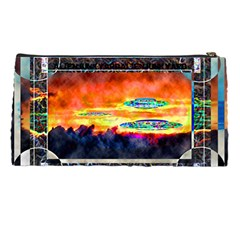 Ufo Sunrise By Alienjunkyard   Pencil Case   Tz7cx2w7um5b   Www Artscow Com Back