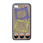 Sushi - Iphone case black - Apple iPhone 4 Case (Black)