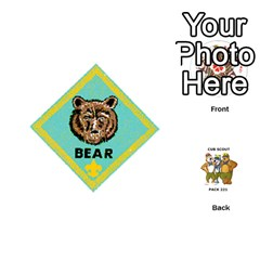 Cub Scout Game By Melissa Wulf   Playing Cards 54 (round)   Xt36h1z0v8tb   Www Artscow Com Front - Club6