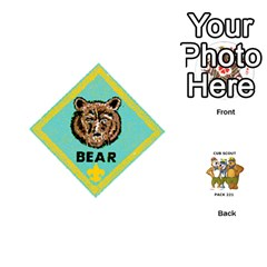 Cub Scout Game By Melissa Wulf   Playing Cards 54 (round)   Xt36h1z0v8tb   Www Artscow Com Front - Club7