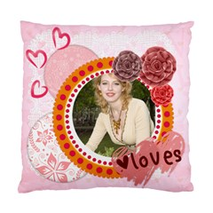 Love By Joely   Standard Cushion Case (two Sides)   7rbtusgrfzc2   Www Artscow Com Front