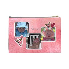 Maddie 1 By Audrey Cole   Cosmetic Bag (large)   Pj4g85ikgiqv   Www Artscow Com Back